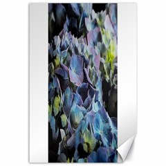 Blue and Purple Hydrangea Group Canvas 24  x 36  (Unframed) by bloomingvinedesign