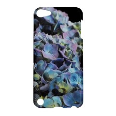 Blue And Purple Hydrangea Group Apple Ipod Touch 5 Hardshell Case by bloomingvinedesign