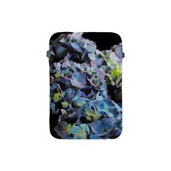 Blue And Purple Hydrangea Group Apple Ipad Mini Protective Sleeve by bloomingvinedesign