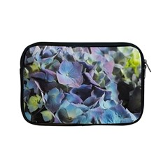 Blue And Purple Hydrangea Group Apple Ipad Mini Zippered Sleeve by bloomingvinedesign