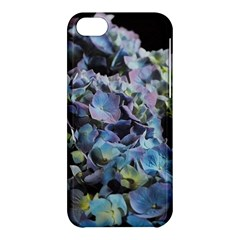 Blue And Purple Hydrangea Group Apple Iphone 5c Hardshell Case by bloomingvinedesign