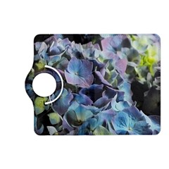 Blue And Purple Hydrangea Group Kindle Fire Hd (2013) Flip 360 Case by bloomingvinedesign