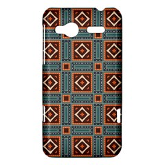 Squares rectangles and other shapes pattern HTC Radar Hardshell Case  by LalyLauraFLM
