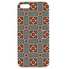 Squares Rectangles And Other Shapes Pattern Apple Iphone 5 Hardshell Case With Stand by LalyLauraFLM