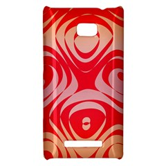 Gradient shapes HTC 8X Hardshell Case by LalyLauraFLM