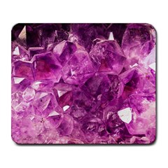 Amethyst Stone Of Healing Large Mouse Pad (rectangle) by FunWithFibro