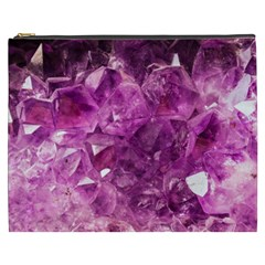 Amethyst Stone Of Healing Cosmetic Bag (xxxl) by FunWithFibro