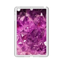 Amethyst Stone Of Healing Apple Ipad Mini 2 Case (white) by FunWithFibro