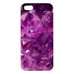Amethyst Stone Of Healing Iphone 5s Premium Hardshell Case by FunWithFibro