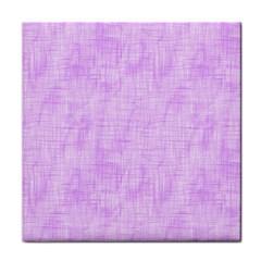 Hidden Pain In Purple Ceramic Tile by FunWithFibro