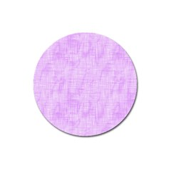 Hidden Pain In Purple Magnet 3  (round) by FunWithFibro