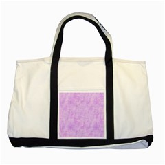 Hidden Pain In Purple Two Toned Tote Bag by FunWithFibro