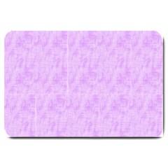 Hidden Pain In Purple Large Door Mat by FunWithFibro
