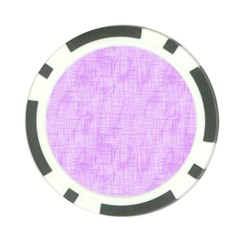 Hidden Pain In Purple Poker Chip (10 Pack) by FunWithFibro