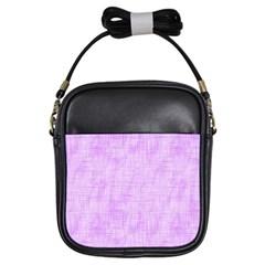 Hidden Pain In Purple Girl s Sling Bag by FunWithFibro