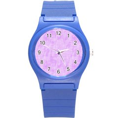 Hidden Pain In Purple Plastic Sport Watch (small) by FunWithFibro