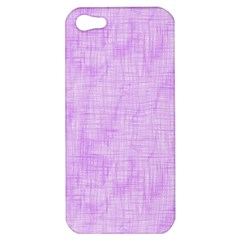 Hidden Pain In Purple Apple Iphone 5 Hardshell Case by FunWithFibro