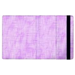 Hidden Pain In Purple Apple Ipad 2 Flip Case by FunWithFibro