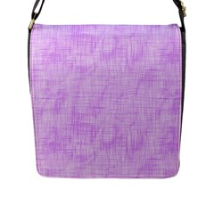 Hidden Pain In Purple Flap Closure Messenger Bag (large) by FunWithFibro