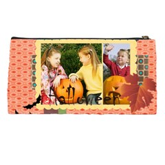 Halloween, Happy, Fun By Helloween   Pencil Case   Wv0n9pgvhnut   Www Artscow Com Back