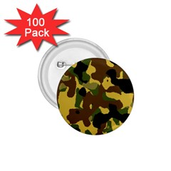 Camo Pattern  1 75  Button (100 Pack) by Colorfulart23