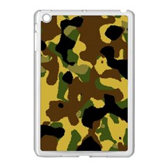 Camo Pattern  Apple Ipad Mini Case (white) by Colorfulart23