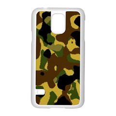 Camo Pattern  Samsung Galaxy S5 Case (white) by Colorfulart23