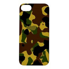 Camo Pattern  Apple Iphone 5s Hardshell Case by Colorfulart23