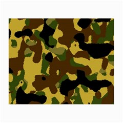 Camo Pattern  Glasses Cloth (small) by Colorfulart23
