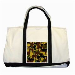 Camo Pattern  Two Toned Tote Bag by Colorfulart23