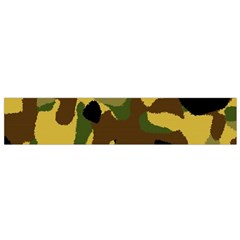 Camo Pattern  Flano Scarf (small) by Colorfulart23