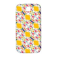 Dots And Rhombus Samsung Galaxy S4 I9500/i9505  Hardshell Back Case