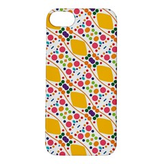 Dots And Rhombus Apple Iphone 5s Hardshell Case by LalyLauraFLM