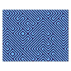 Blue Maze Jigsaw Puzzle (rectangular) by LalyLauraFLM