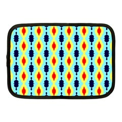Yellow Chains Pattern Netbook Case (medium) by LalyLauraFLM