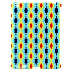 Yellow Chains Pattern Apple Ipad 3/4 Hardshell Case (compatible With Smart Cover) by LalyLauraFLM