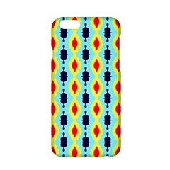 Yellow Chains Pattern Apple Iphone 6 Hardshell Case by LalyLauraFLM