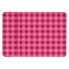 Abstract Pink Floral Tile Pattern Samsung Galaxy Tab 8.9  P7300 Flip Case by creativemom