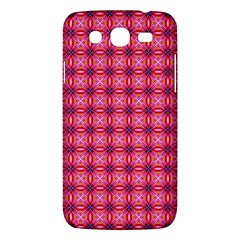 Abstract Pink Floral Tile Pattern Samsung Galaxy Mega 5 8 I9152 Hardshell Case  by creativemom