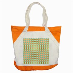 Aqua Mint Pattern Accent Tote Bag by creativemom
