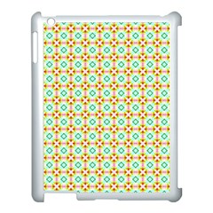 Aqua Mint Pattern Apple Ipad 3/4 Case (white) by creativemom