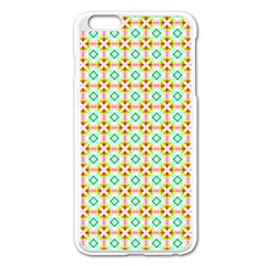 Apple Iphone 6 Plus Enamel White Case by creativemom