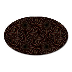 Tribal Geometric Vintage Pattern  Magnet (oval) by dflcprints