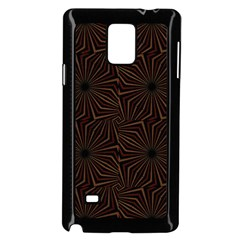 Tribal Geometric Vintage Pattern  Samsung Galaxy Note 4 Case (Black) by dflcprints