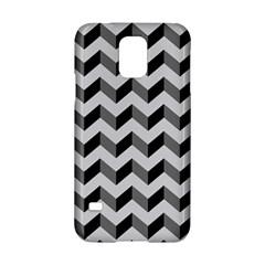 Modern Retro Chevron Patchwork Pattern  Samsung Galaxy S5 Hardshell Case  by creativemom