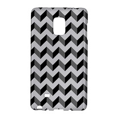 Modern Retro Chevron Patchwork Pattern  Samsung Galaxy Note Edge Hardshell Case by creativemom