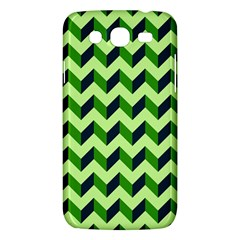 Green Modern Retro Chevron Patchwork Pattern Samsung Galaxy Mega 5 8 I9152 Hardshell Case  by creativemom