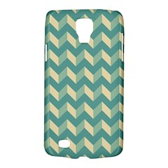 Mint Modern Retro Chevron Patchwork Pattern Samsung Galaxy S4 Active (i9295) Hardshell Case by creativemom