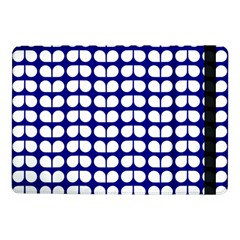 Blue And White Leaf Pattern Samsung Galaxy Tab Pro 10 1  Flip Case by creativemom