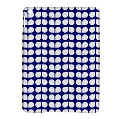 Blue And White Leaf Pattern Apple Ipad Air 2 Hardshell Case by creativemom